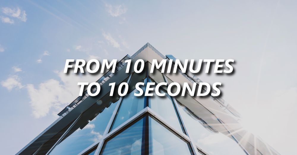 Belimo Americas reduces processing time from 10 minutes to 10 seconds