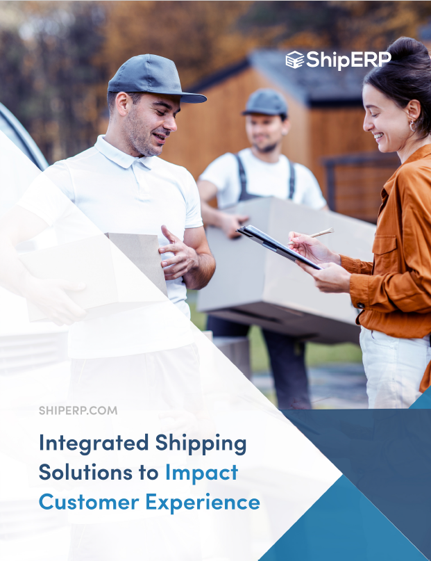 Integrated Shipping Solutions to Impact Customer Experience Title Cover Page