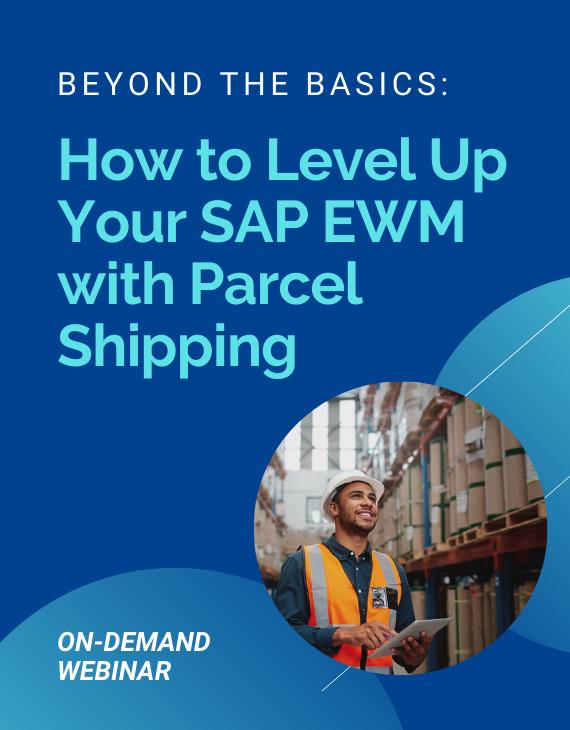 SAP EWM Parcel Shipping Resource Preview
