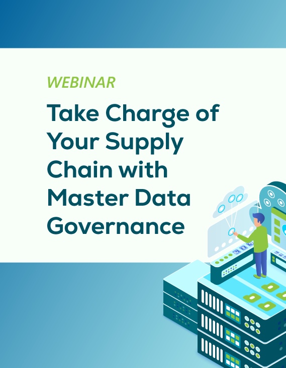Webinar: Take charge of your supply chain with master data governance